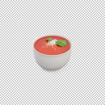 Soupe isométrique