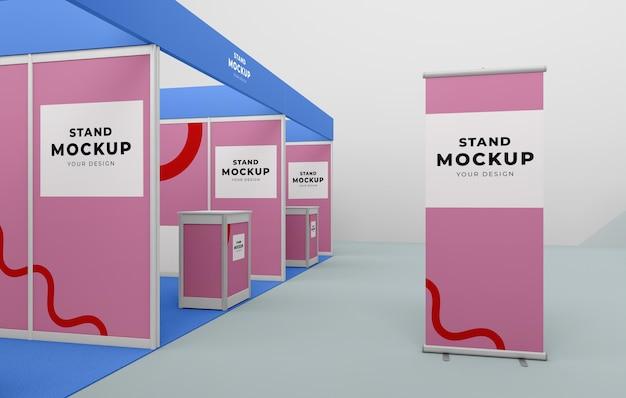 Stand commercial et maquette de stand