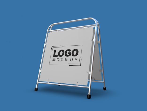 Stand et logo maquette