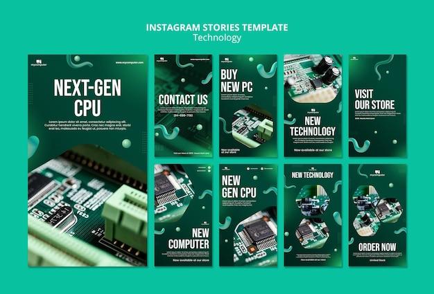 Stories d'instagram de processeurs de nouvelle génération
