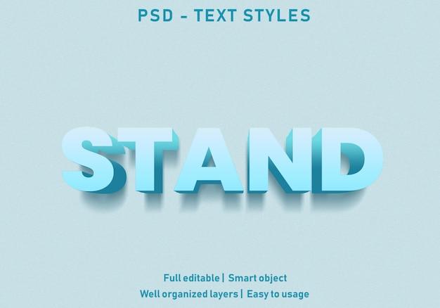 Style d'effet de texte