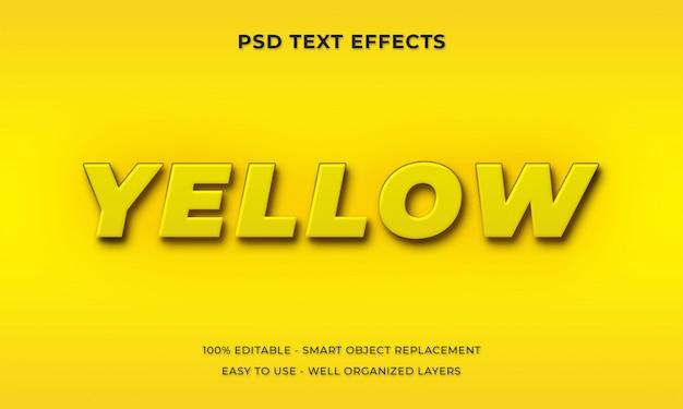 Style de texte 3d premium