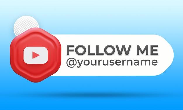 Suivez-nous sur youtube troisième bannière inférieure