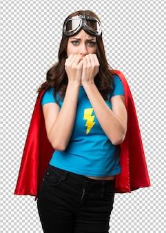 Super jolie fille de héros
