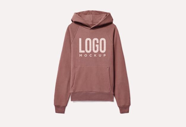 Sweat à capuche tshirt logo psd vêtements de marque vêtements chemise maquette