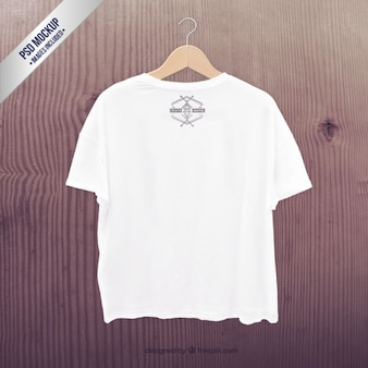 T-shirt blanc maquette