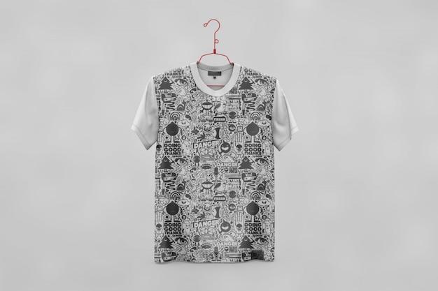 Le t-shirt créatif se moque