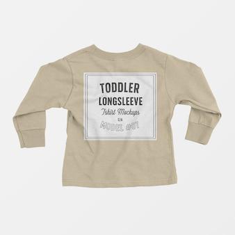 T-shirt enfant en bas âge, maquette