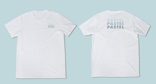 T-shirt maquette psd, modèle pour votre conception.
