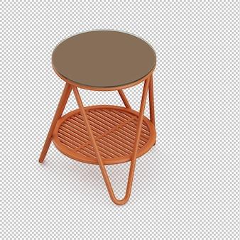 Table isométrique
