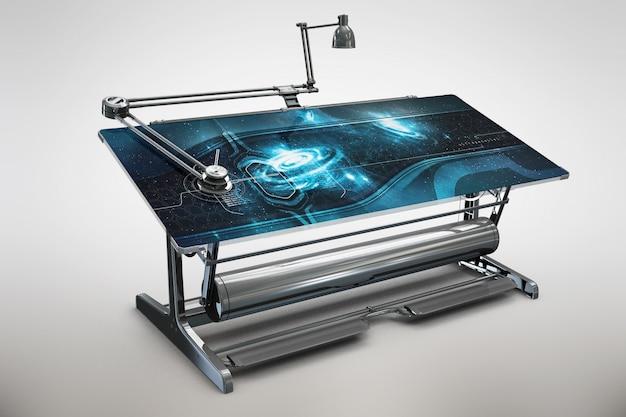 Table maquette de conception