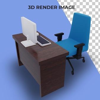 Table de rendu 3d pour le travail