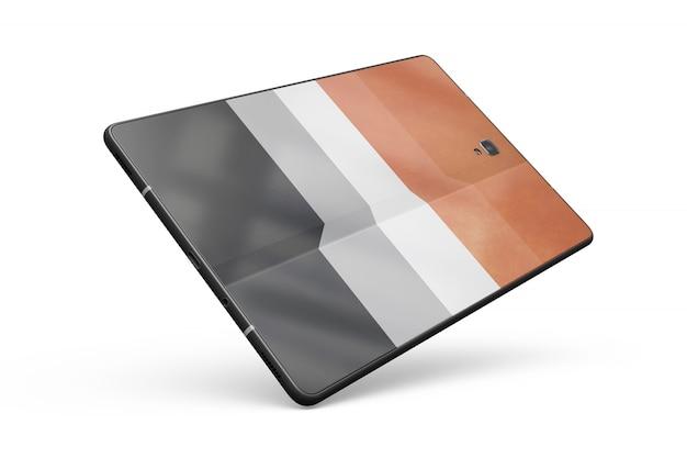 Tablette maquette de peau isolée