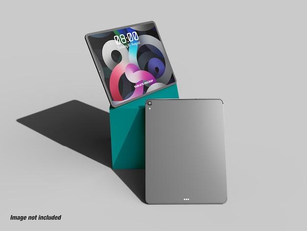 Tablettes ou écran pad pour ui ux mockup