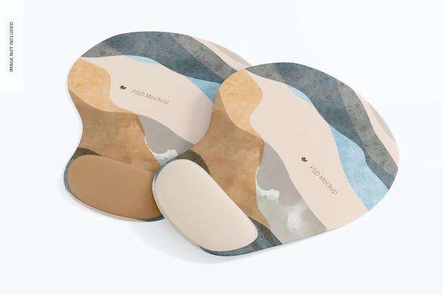 Tapis de souris avec maquette en gel