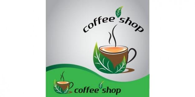 Tasse de café de conception de logo