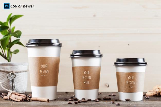 Tasse à café maquette