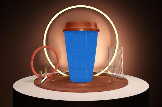 Tasse à café néon