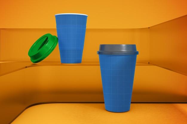 Tasse à Café Sur Verre PSD Premium