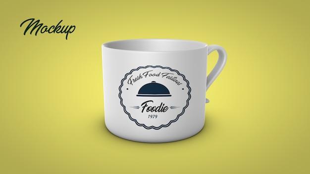 Tasse à thé mock up