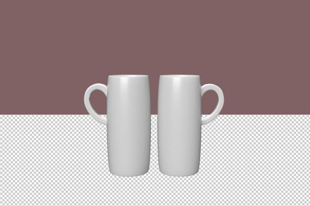 Tasses à café minimales