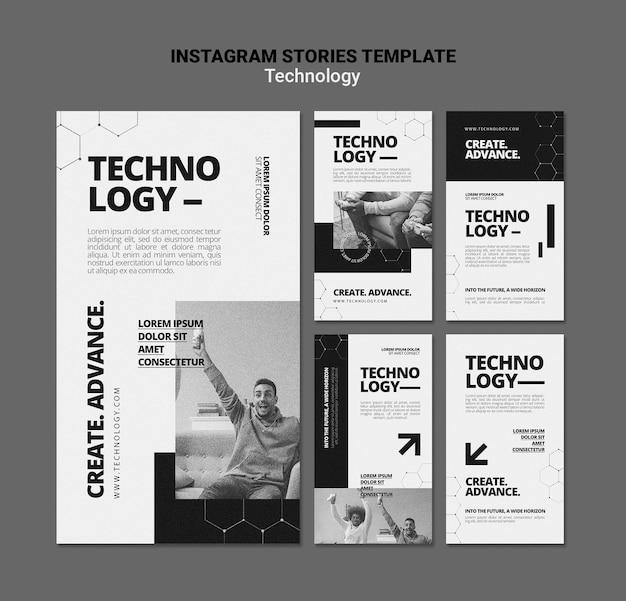 Technologie dans les histoires instagram de jeux vidéo