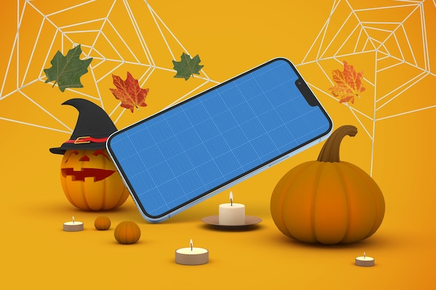 Téléphone d'halloween 13