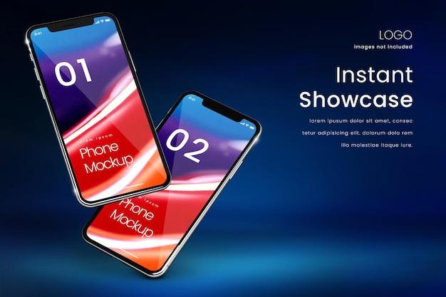 Téléphone intelligent parfait pour afficher des applications ou des médias sociaux