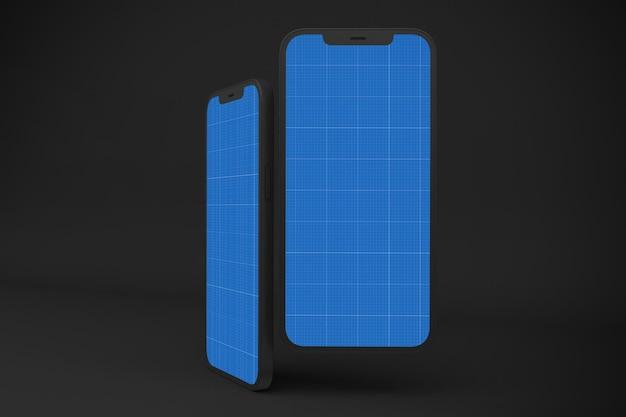 Téléphone intelligent sombre