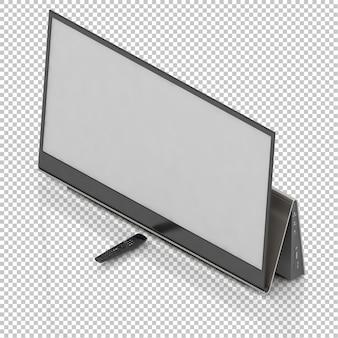 Télévision intelligente isométrique