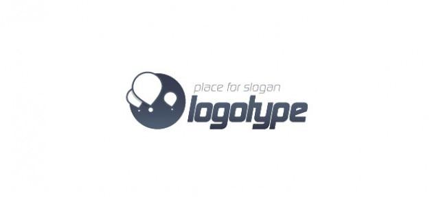 Template vecteur ballon logo pour le blog