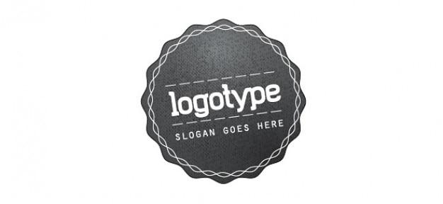 Template vecteur grunge logo