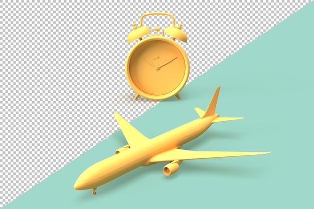 Temps de voyager concept