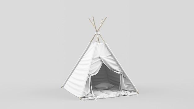 Tente indienne ou tipi pour enfants