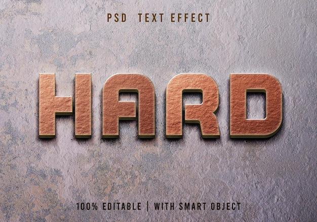 Texte d'or 3d modifiable