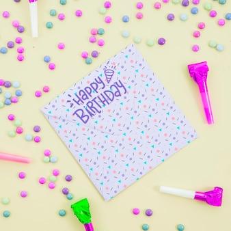 Thème festif pour la fête d'anniversaire