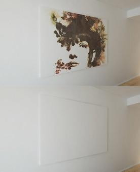 Toile artistiques maquette