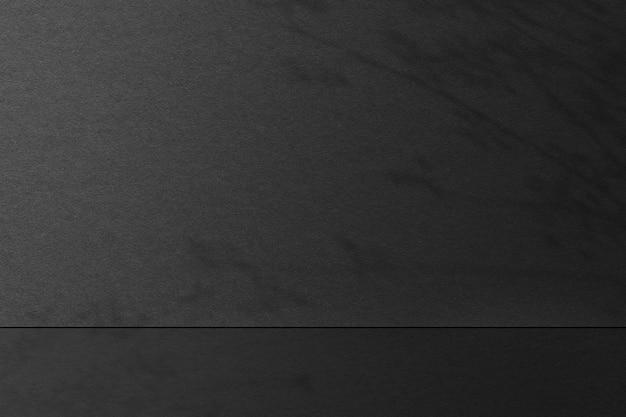 Toile de fond de produit de texture de papier gris psd avec ombre