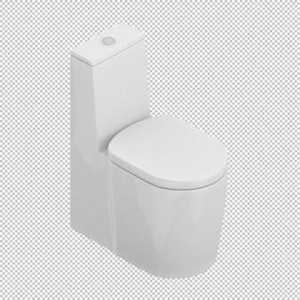 Toilette isométrique