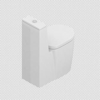 Toilettes isométriques