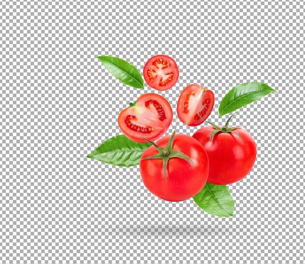Tomate fraîche isolée