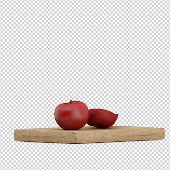 Tomate isométrique