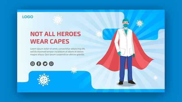 Tous les héros ne portent pas de bannière de capes