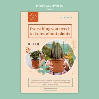 Tout ce que vous devez savoir sur les plantes poster