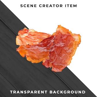 Tranche de viande psd transparente
