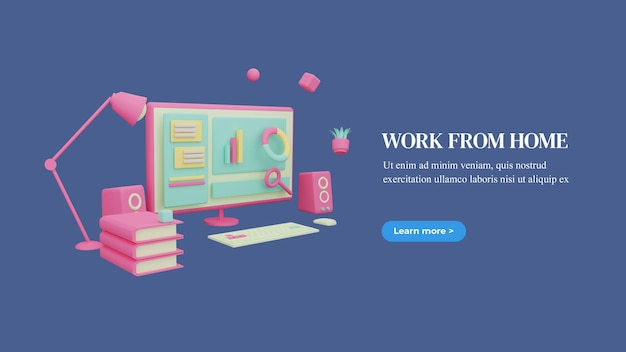 Travailler à partir de la page d'accueil