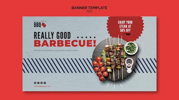 Très bon modèle de bannière de barbecue