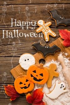 Trick ou traiter des bonbons spécifiques à halloween