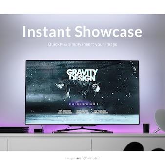 Tv mock up