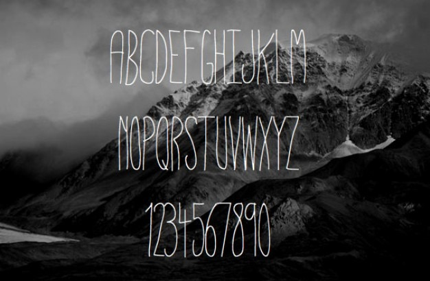 Typographie fine